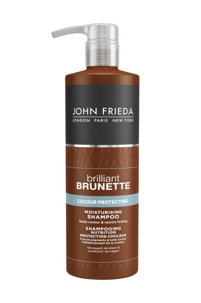 John Frieda Brilliant Brunette Color Protecting Moisturising Shampoo 500 ml