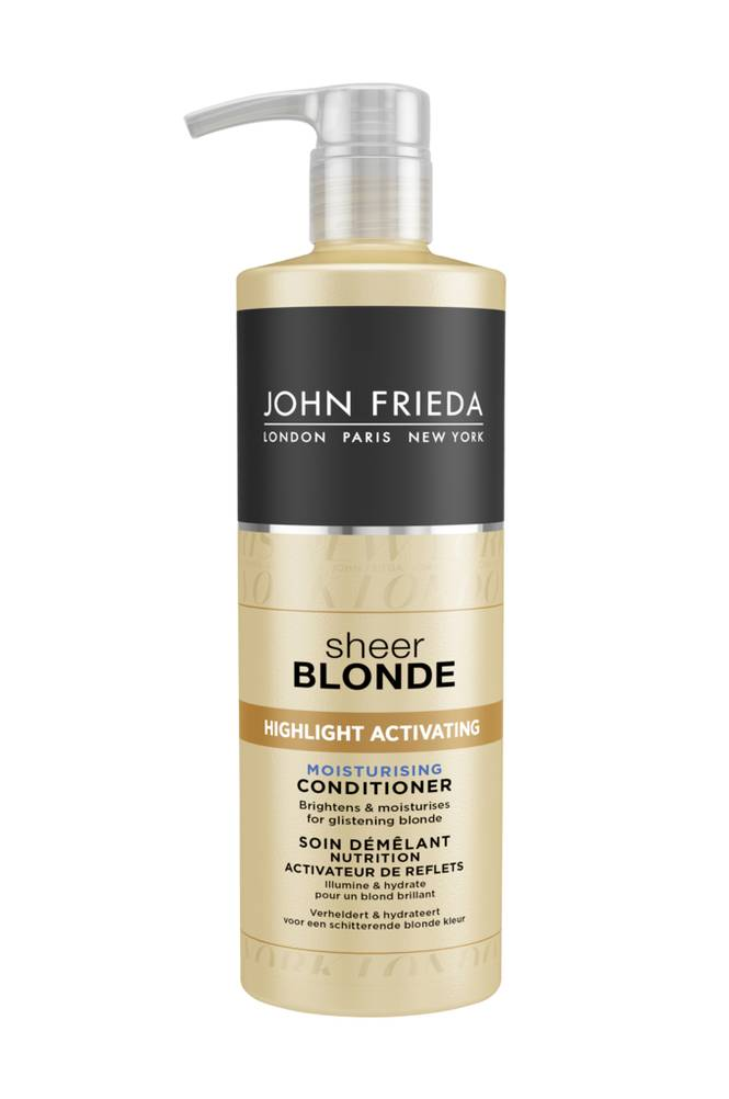John Frieda Sheer Blonde Highlight Activating Moisturising Conditioner 500 ml
