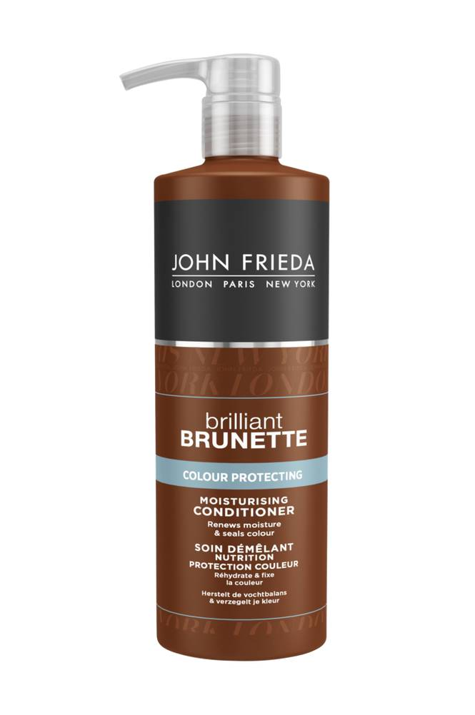 John Frieda Brilliant Brunette Color Protecting Moisturising Conditioner 500 ml