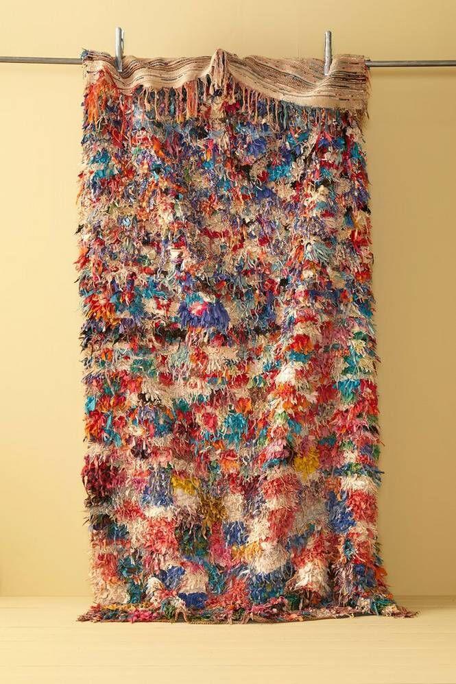 Bargi Boucherouite-matto 142x265 cm