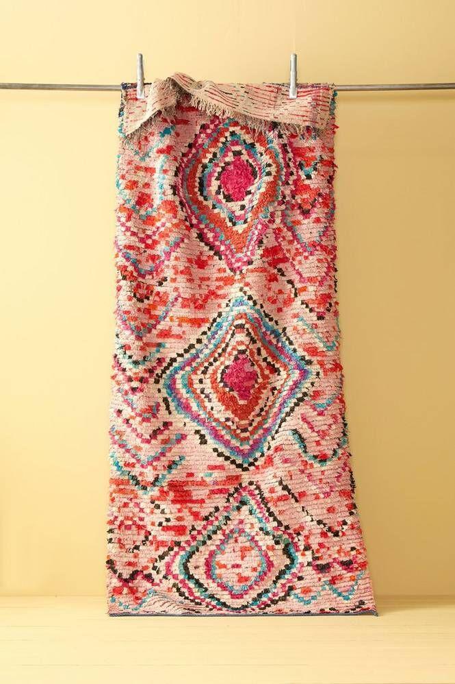 Bargi Boucherouite-matto 104x251 cm