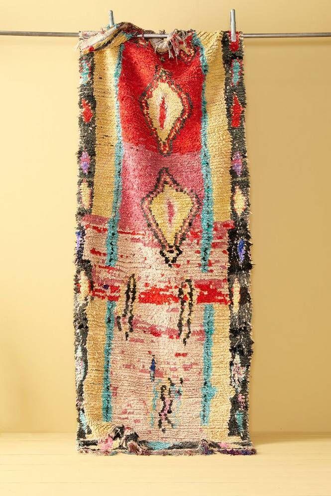 Bargi Boucherouite-matto 100x282 cm