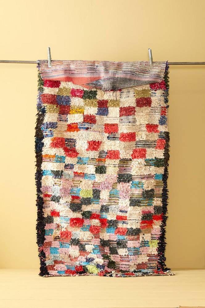 Bargi Boucherouite-matto 123x230 cm