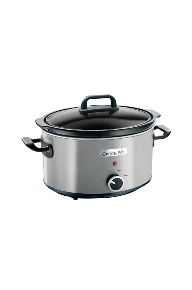 Crock-Pot Slow Cooker 3,5 l, manuaalinen, ruostumaton teräs