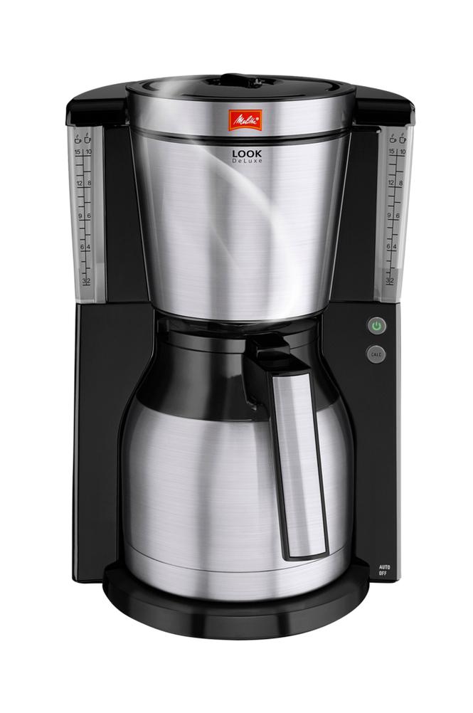 Melitta Look 4.0 Therm De Luxe Steel -kahvinkeitin