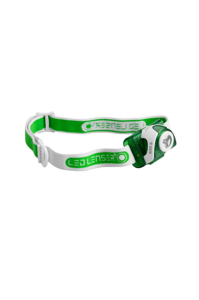 Led Lenser Se03 -otsalamppu, vihreä