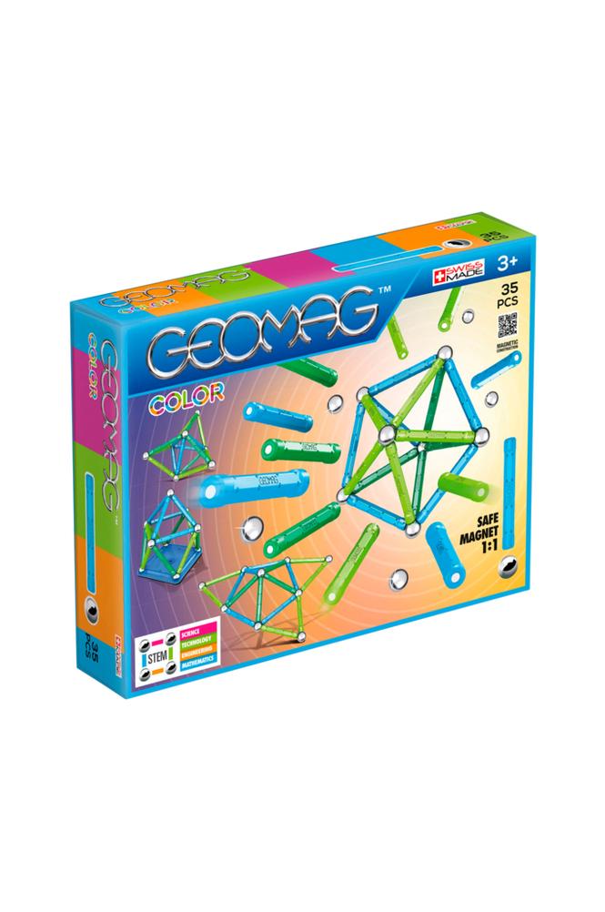 Tactic Geomag Color -seurapeli, 35 palaa