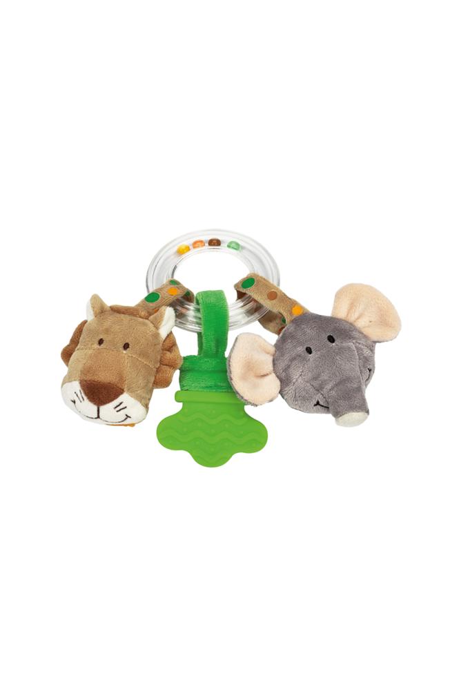 Teddykompaniet Diinglisar-helistin, leijona ja norsu