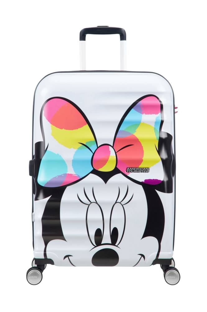 American Tourister Wavebreaker Sp 67 Disney -matkalaukku, Minni Hiiri