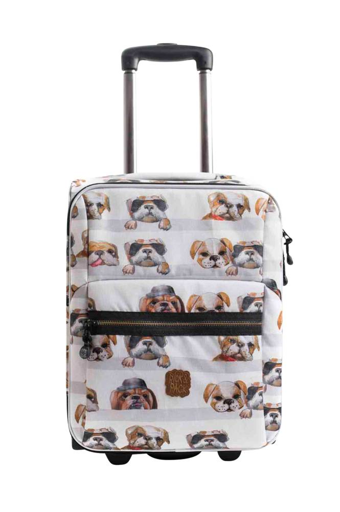 Pick & Pack Trolley dogs white