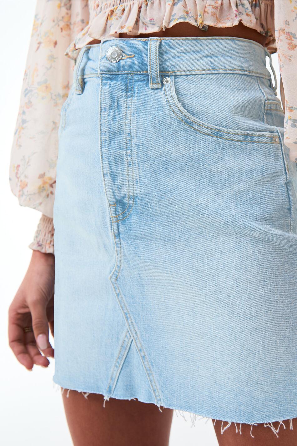 Gina Tricot Vintage short denim skirt