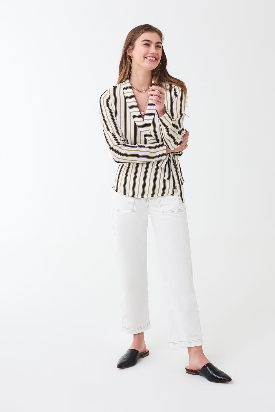 Gina Tricot Ingrid wrap blouse
