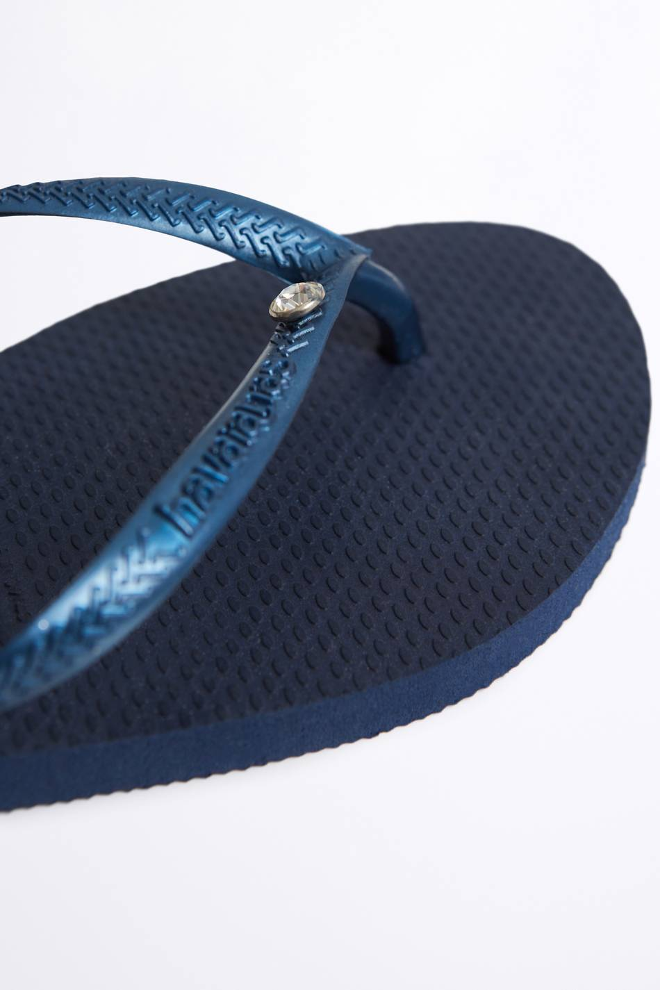 Gina Tricot Havaianas crystal flip flops