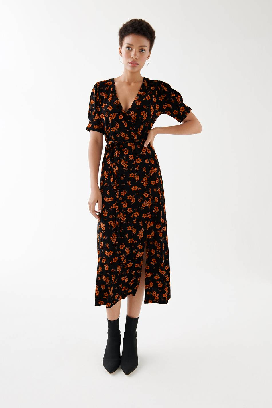 Gina Tricot Ida wrap dress