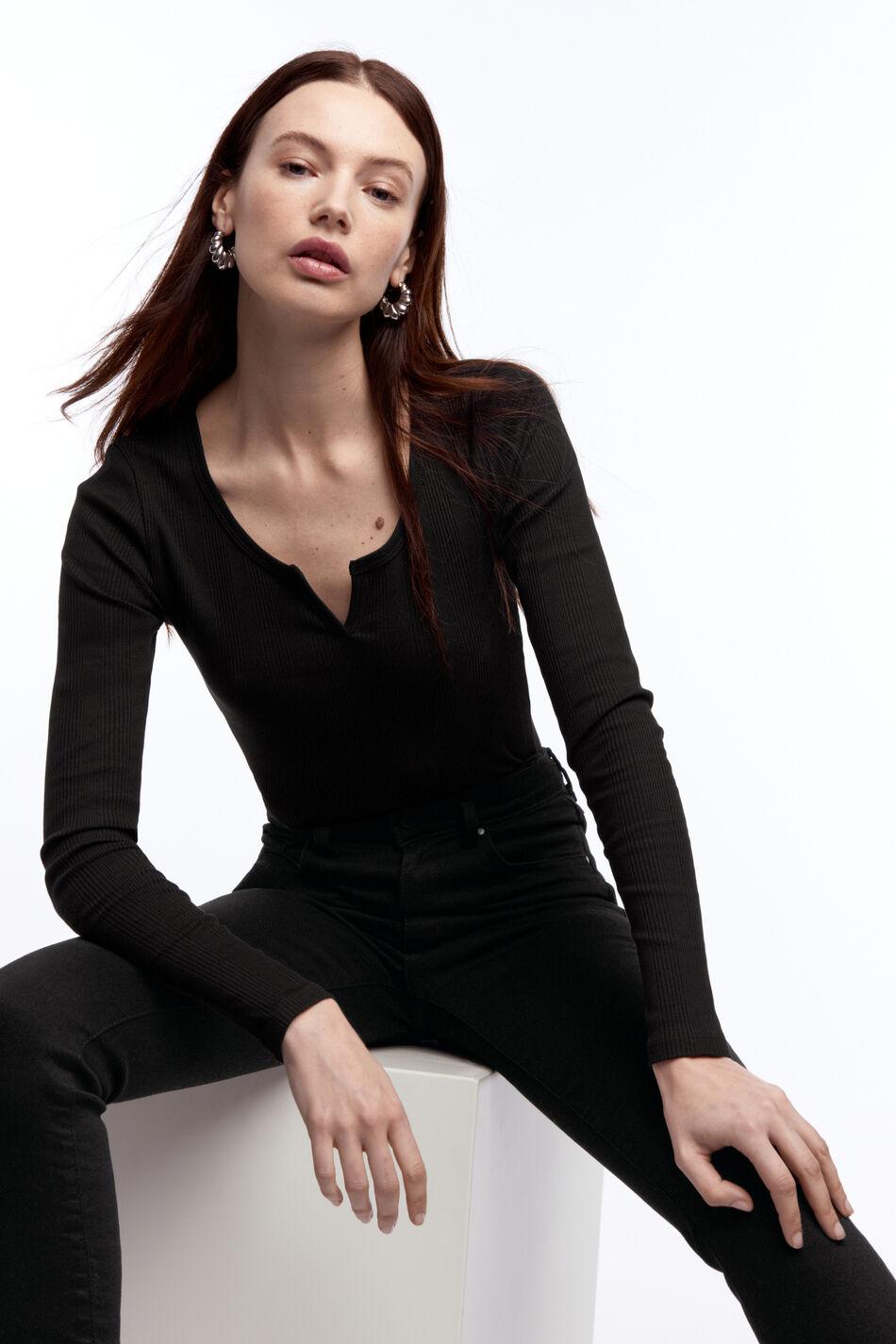 Gina Tricot Liv rib top