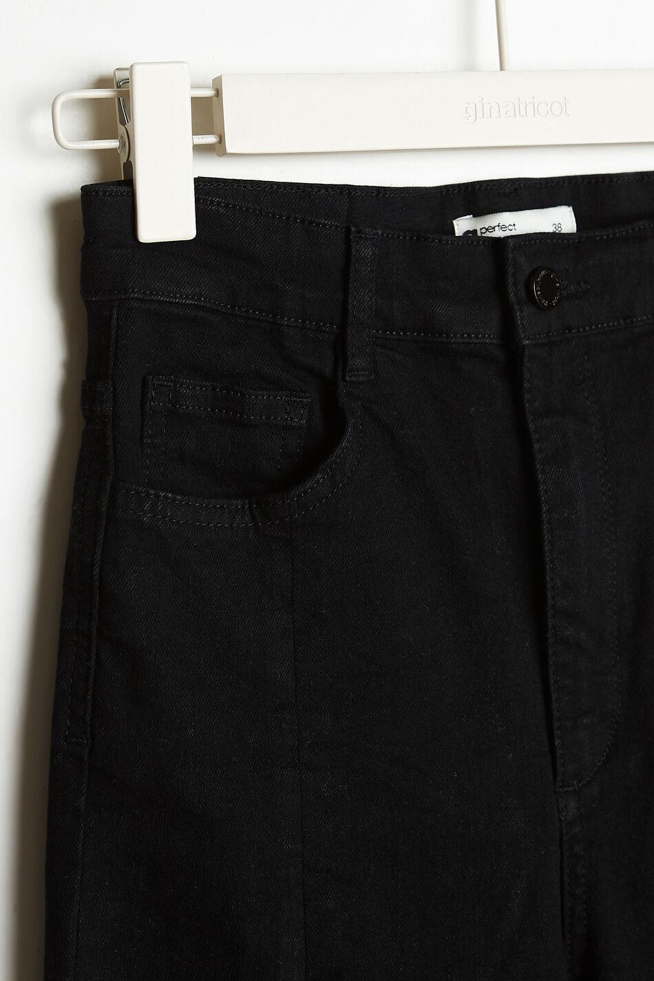 Gina Tricot Superhigh slit jeans