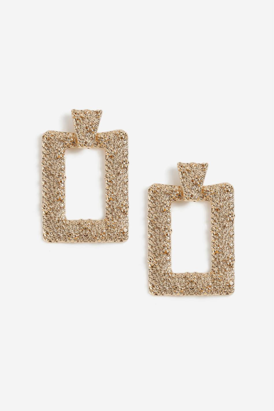 Gina Tricot GOLD SQUARE DOOR KNOCKER
