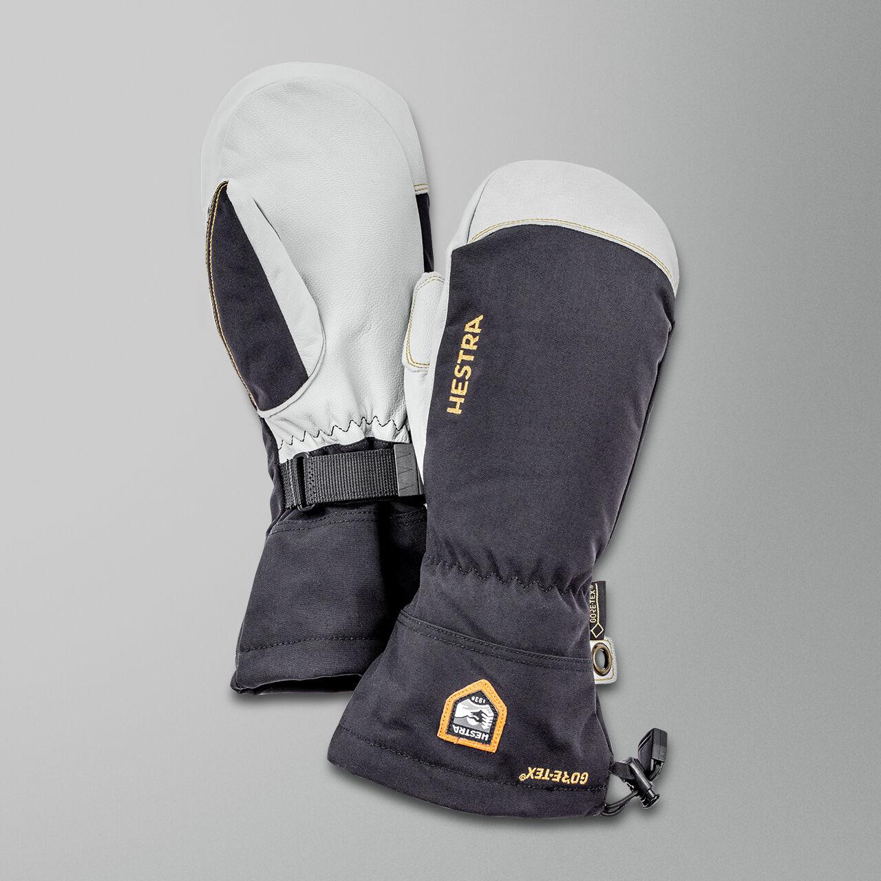 Hestra Nahkalapaset Hestra Army Snowmobile GORE-TEX® Musta