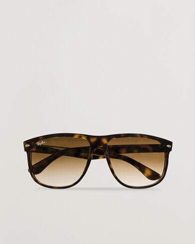 Ray Ban RB4147 Sunglasses Light Havana/Crystal Brown Gradient