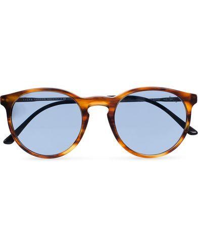 Ralph Lauren PH4096 Sunglasses Stripped Havana