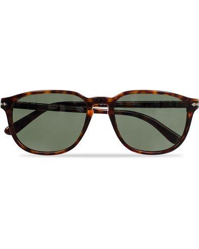 Persol PO3019S Sunglasses Havana/Crystal Green