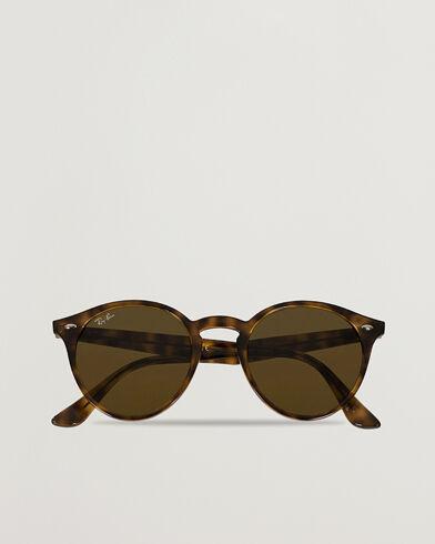 Ray Ban RB2180 Acetat Sunglasses Dark Havana/Dark Brown