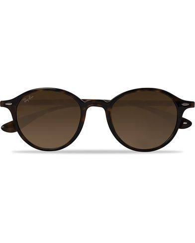 Ray Ban 0RB4237 Round Sunglasses Havana/Brown