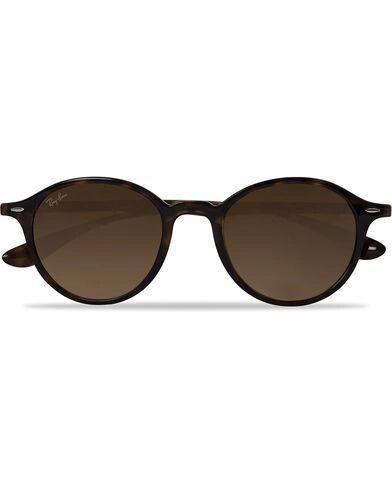 Ray Ban 0RB4237 Round Sunglasses Havana/Brown
