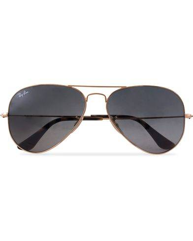 Ray Ban 0RB3025 Aviator Sunglasses Gold/Grey