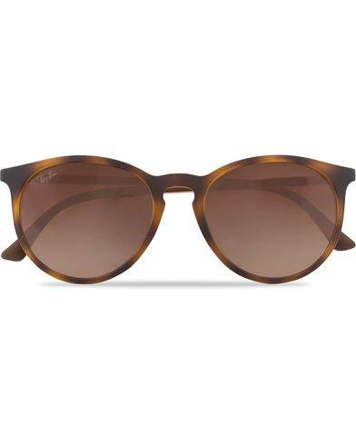 Ray Ban 0RB4274 Round Sunglasses Light Havana Rubber