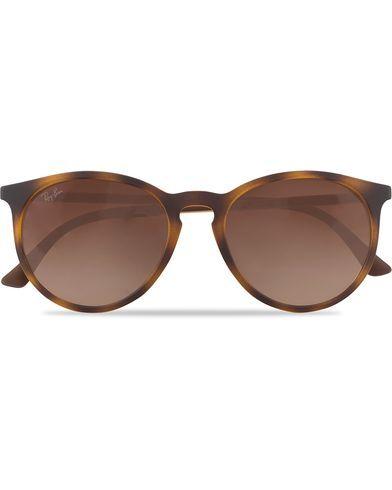 Ray Ban 0RB4274 Round Sunglasses Light Havana Rubber