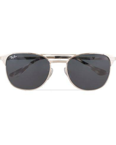 Ray Ban 0RB3429M Sunglasses Shiny Silver
