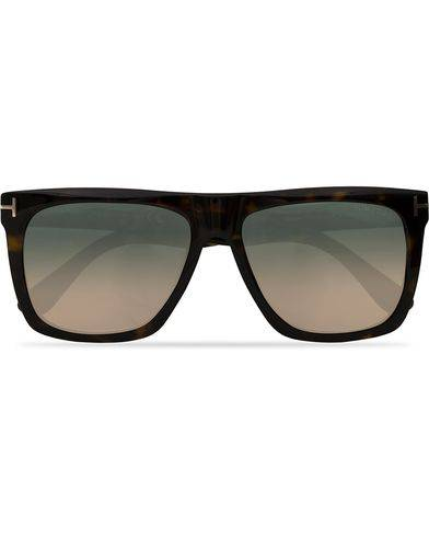 Tom Ford Morgan FT0513 Sunglasses Dark Havana/Gradient Blue