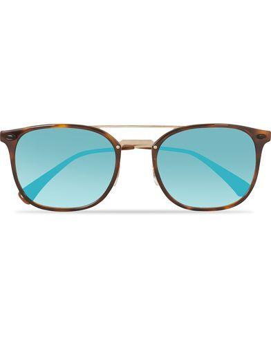 Ray Ban 0RB4286 Sunglasses Shiny Red Havana