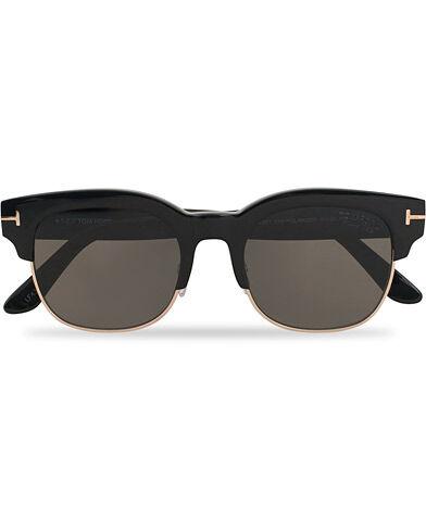 Tom Ford Harry FT0597 Sunglasses Shiny Black