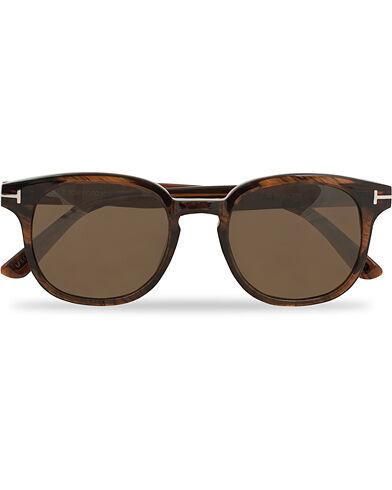 Tom Ford Frank FT0399 Sunglasses Shiny Dark Brown