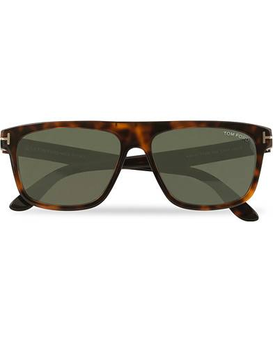 Tom Ford Cecilio FT0628 Sunglasses Dark Havana/Green