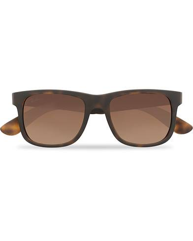 Ray Ban 0RB4165 Sunglasses Brown Gradient