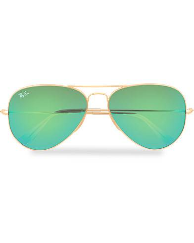 Ray Ban 0RB3025 Sunglasses Multi Mirror Green