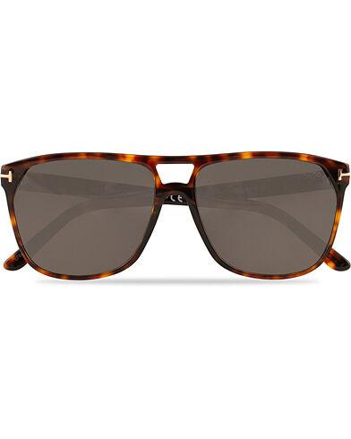 Tom Ford Shelton FT0679 Sunglasses Red Havana/Smoke