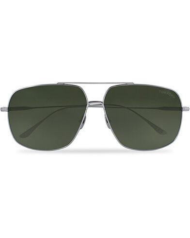 Tom Ford John 02 TF0746 Sunglasses Titanium