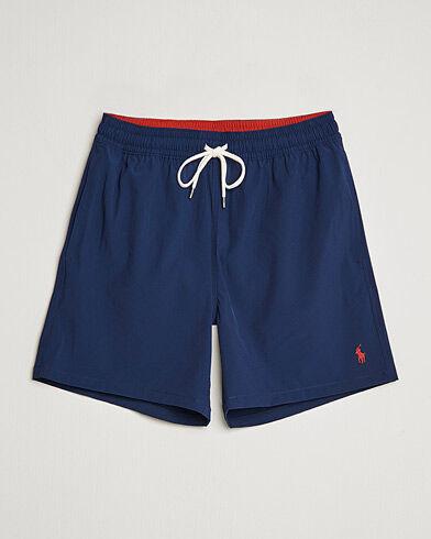 Ralph Lauren Traveler Boxer Swimshorts Newport Navy
