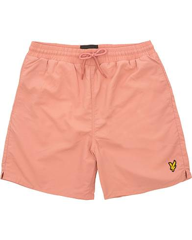Lyle & Scott Plain Swimshorts Pink Shadow