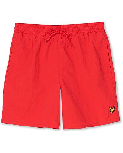 Lyle & Scott Plain Swimshorts Gala Red