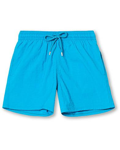 Vilebrequin Moorise Jacquard Tortues Stretch Swim Shorts Azurin