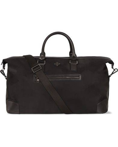 J.Lindeberg S-Bag 50001 Nylon/Leather Weekendbag Black