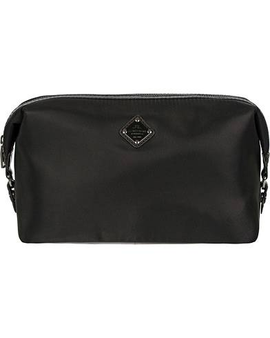 J.Lindeberg S-Washbag Leather/Nylon Black