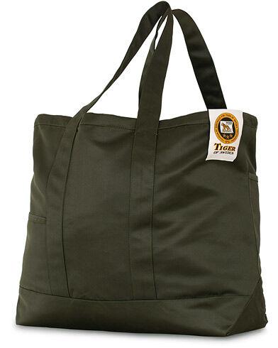 Tiger of Sweden Drop Tote Weekendbag Green