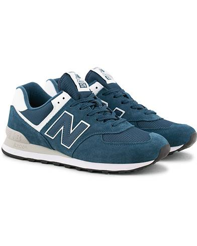 New Balance 574 Running Sneaker Navy