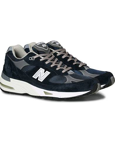 New Balance Made In England 991 Sneaker Navy